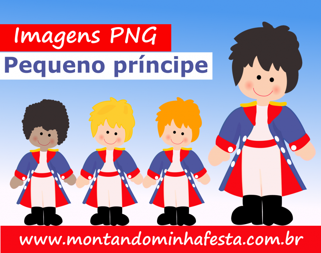 Banner imagens png pequeno principe
