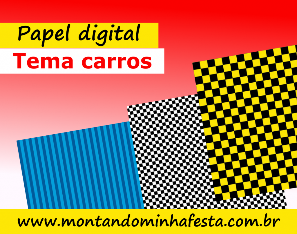 Banner papel digital carros
